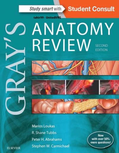 """دانلود رایگان کتاب """"Gray's Anatomy """"Review"""